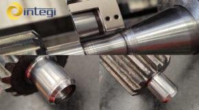 🔎⚙️En esta ocasión presentamos una aplicación de bruñido ejecutada perfectamente con nuestra herramienta de bruñido HBM 20-B⚙️🔎